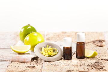 Ätherische Öle aus Früchten, Limette