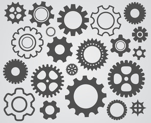 gear cogs icon
