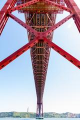 25 de Abril Bridge (Ponte 25 de Abril) in Lisbon