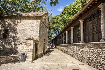 Santuario a Chiusi della Verna in Toscana