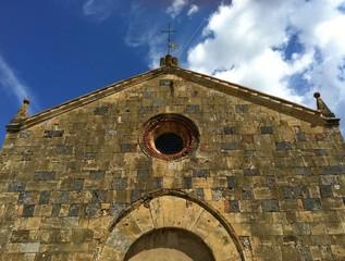 Chiesa di Santa Maria - Monteriggioni