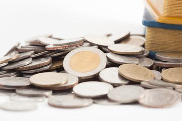 thai coin and money box