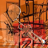 Jazz trumpet player