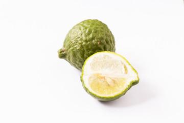 Kaffir Lime or bergamot.