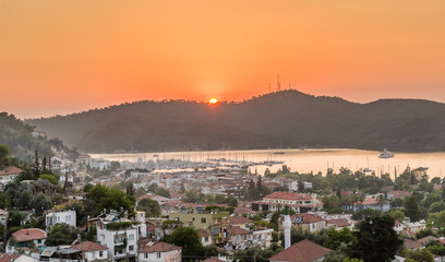 Sundown at Fethiye