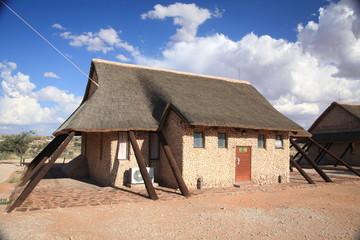 kgalagadi kalahari sudafrica struttura ricettiva nella savana