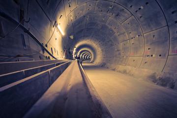 Hamburg U4 Ubahntunnel
