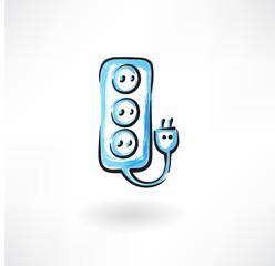 socket grunge icon