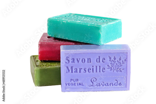 MARSEILLE, FRANCE - CIRCA JULY 2014: Herbs soap from the Provenc - 68953532