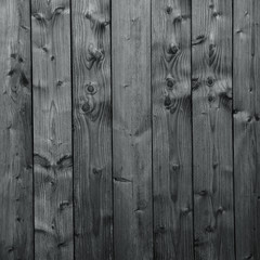 Wooden wall in gray