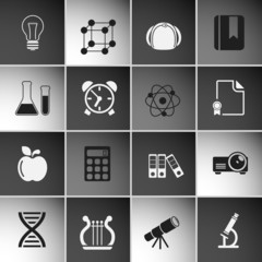 Education Icons Set Vol 2