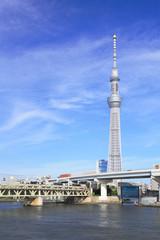 スカイツリーと東武鉄道