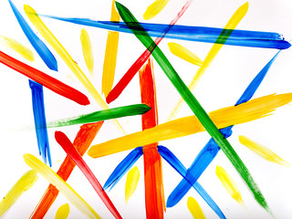 Abstract colorful strip background.