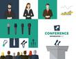 Zdjęcia na płótnie, fototapety, obrazy : Conference illustration