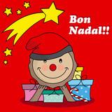 Caga tio. Traditional Christmas Celebration in catalunya poster