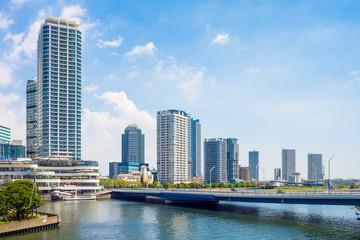 Yokohama portside area