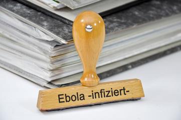 Ebola infiziert