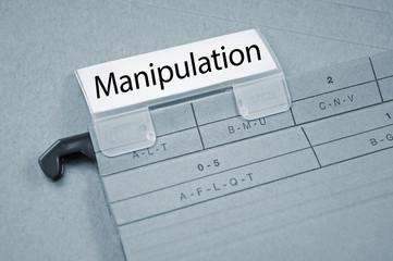 Ordner mit Manipulation