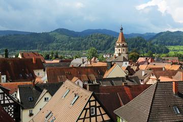 Die Dächer von Gengenbach
