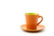 Isolated Orange mug