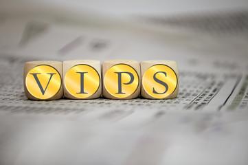Würfel mit VIPS