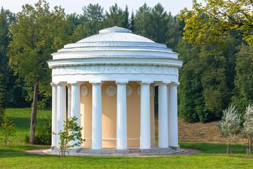 Temple of Friendship in the Pavlovsk garden, Saint-Petersburg