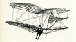 Leinwanddruck Bild - Lilienthal in flight