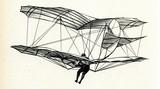 Lilienthal in flight