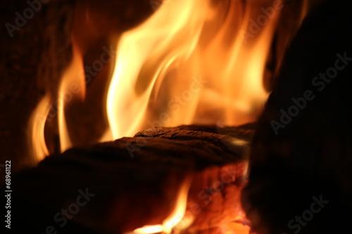 canvas print picture Flammen