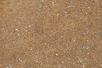 Close - up natural brown soil texture and background