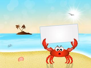 crab cartoon