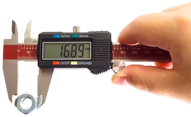 Measuring With A Digital Caliper
