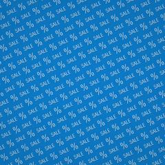 Blue Sale Background