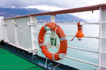 lifebelt on board