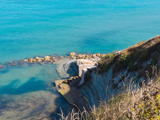 Beach in the hills of Peroulades - Corfu