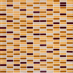 mosaic tile background texture brownish color
