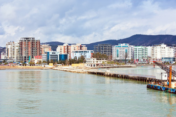 view of Valona from the sea - Albania