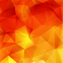 Abstract Autumn geometric shapes. plus EPS10
