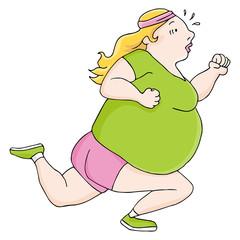 Overweight Runner