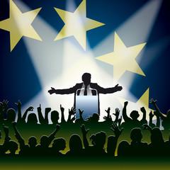 Discours électoral Europe
