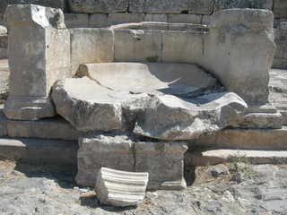 The Ruins Of Hierapolis