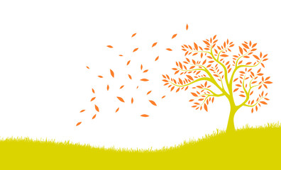 Herbst Laubbaum