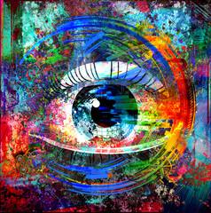 глаз и цвет