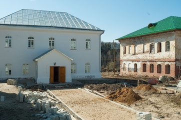 Restoration in Ioanno-Vvedensky female monastery