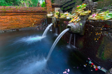 Holy Spring Water Temple,Bali
