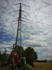 Baumaßnahmen zur Stromversorgung