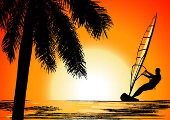Summer holiday, vector