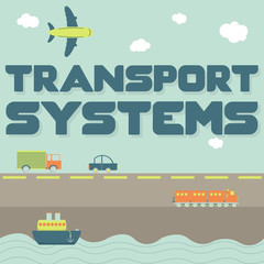 """Transport systems"" phrase and means of transportation"