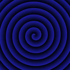 Blue hypnotic Background
