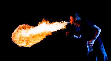 Amazing Fire-breathing